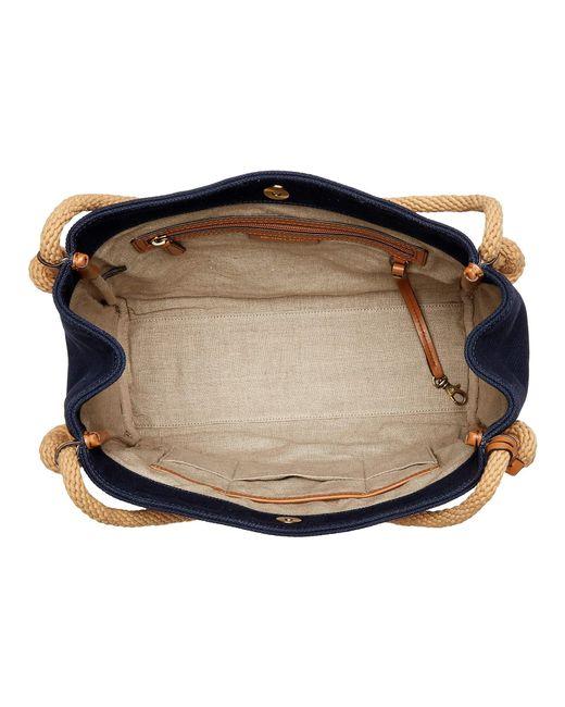 a3696ce52abf ... MICHAEL Michael Kors - Blue Isla Large Grab Bag (admiral) Tote Handbags  - Lyst ...