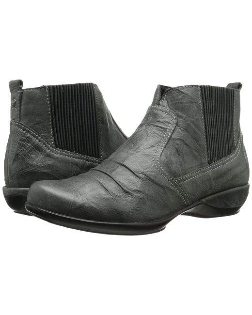 Aetrex - Gray Kailey Ankle Boot - Lyst