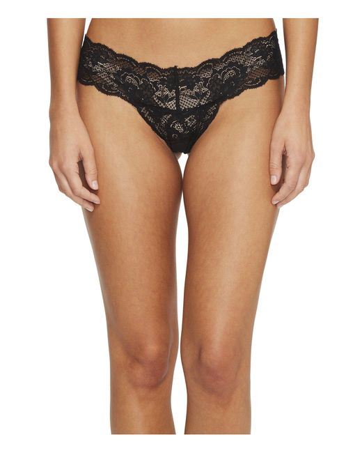 Cosabella - Black Never Say Never Cutie Lowrider Thong - Lyst