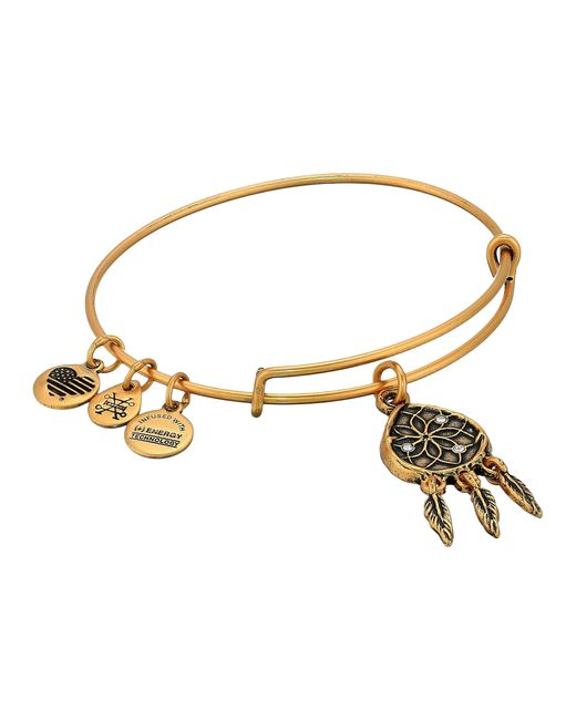 ALEX AND ANI Metallic Dreamcatcher Bangle