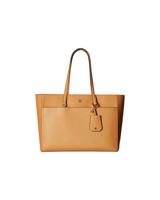 Tory Burch - Brown Robinson Tote - Lyst