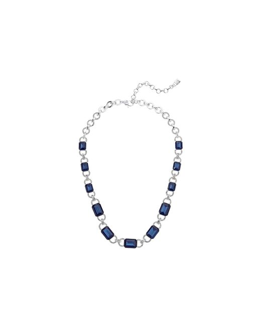 Lauren by Ralph Lauren - Blue 17 Stone Collar Necklace (red) Necklace - Lyst