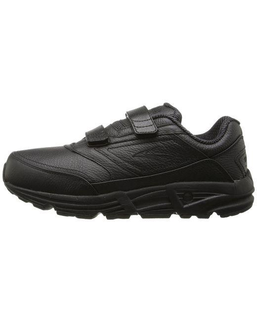 a6fd0906512 ... Brooks - Addictiontm Walker V-strap (black) Men s Walking Shoes for Men  ...