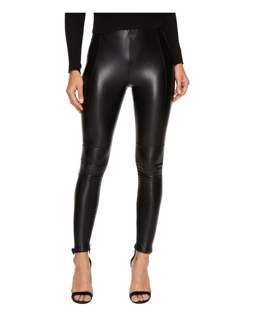 Bishop + Young | Black Vegan Leather Leggings | Lyst