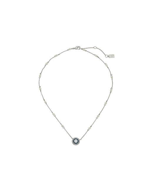 """Lauren by Ralph Lauren   Metallic 16"""" Stone Pendant Necklace   Lyst"""