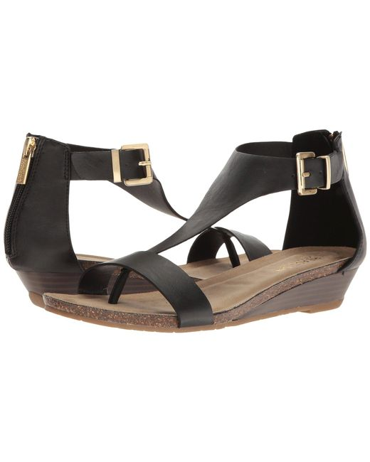 Kenneth Cole Reaction - Black Great Gal (navy) Women's Sandals - Lyst