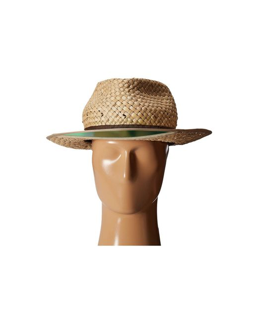 ... Brixton - Brown Hunter Fedora (tan) Fedora Hats for Men - Lyst ... 4fe36fe0833