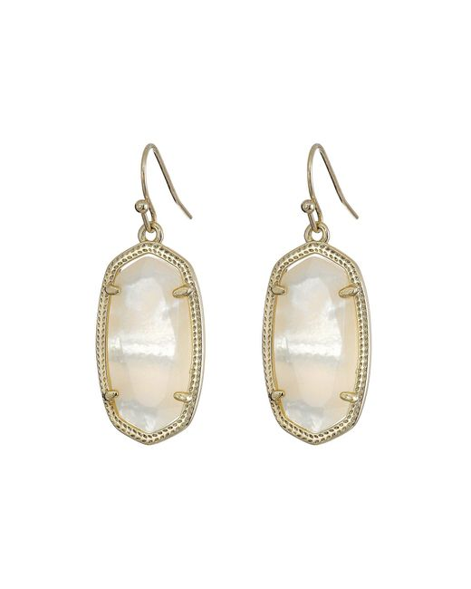 Kendra Scott - Metallic Dani Earrings - Lyst