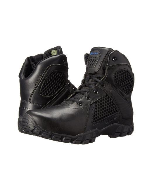 Bates Footwear - Pink Shock 6 Side Zip (black) Men's Work Boots for Men - Lyst