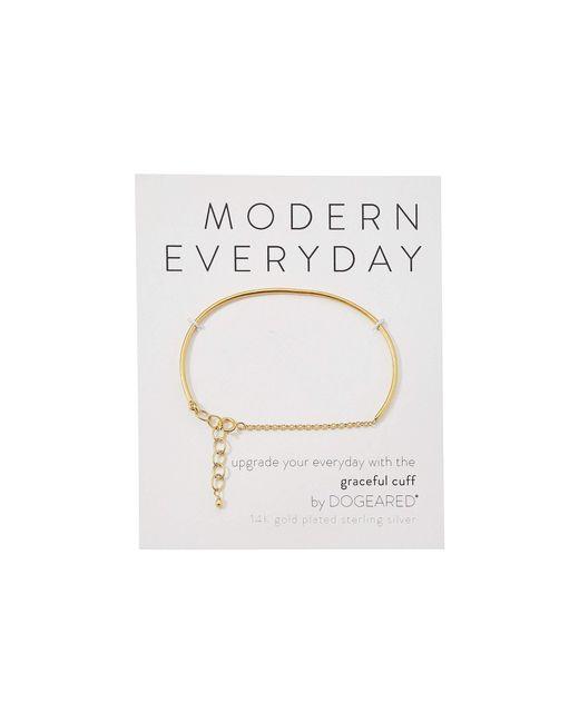 Dogeared - Metallic Modern Everyday, Graceful Cuff Bracelet (gold) Bracelet - Lyst