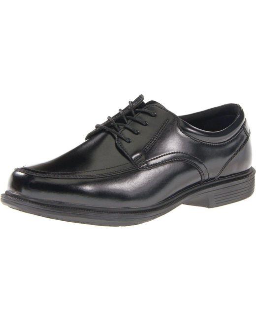 Nunn Bush Mens Bourbon Street Moc Toe Oxford with KORE Slip Resistant Walking Comfort Technology