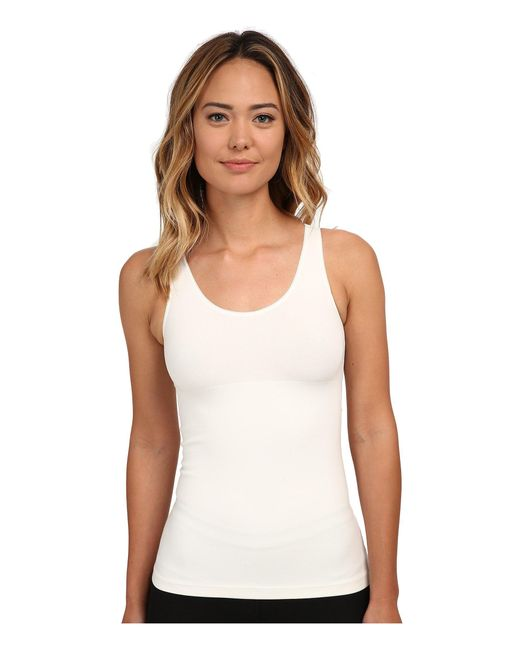 Spanx - Natural In And Out Tank Top - Lyst