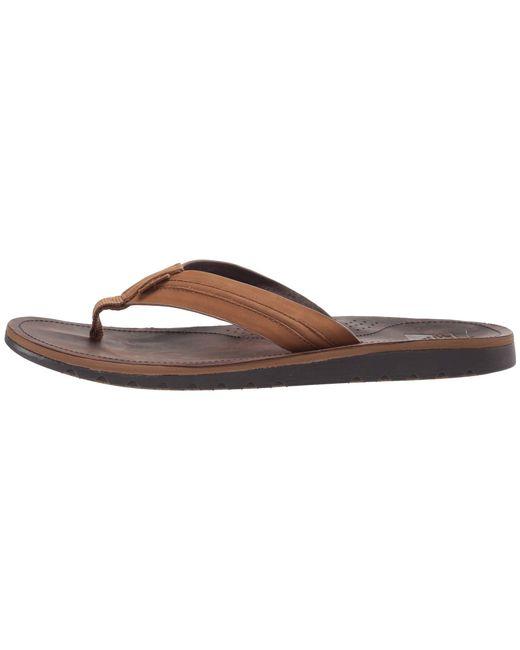 2e161dd3c557 ... Reef - Voyage Lux (dark Brown light Brown) Men s Sandals for Men ...