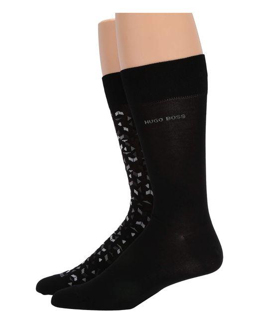 BOSS Black Two-pack Of Socks In A Mercerized-cotton Blend for men