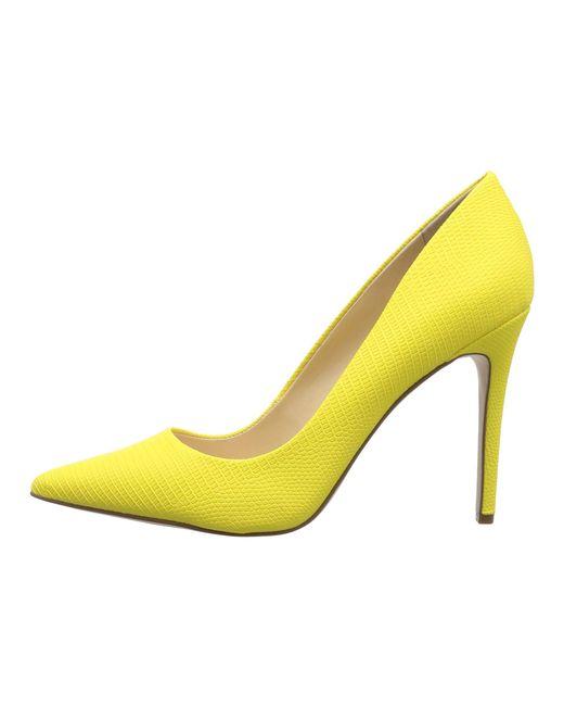 a88d377b38b ... Jessica Simpson - Yellow Praylee (black Soft Nappa Silk) High Heels -  Lyst ...