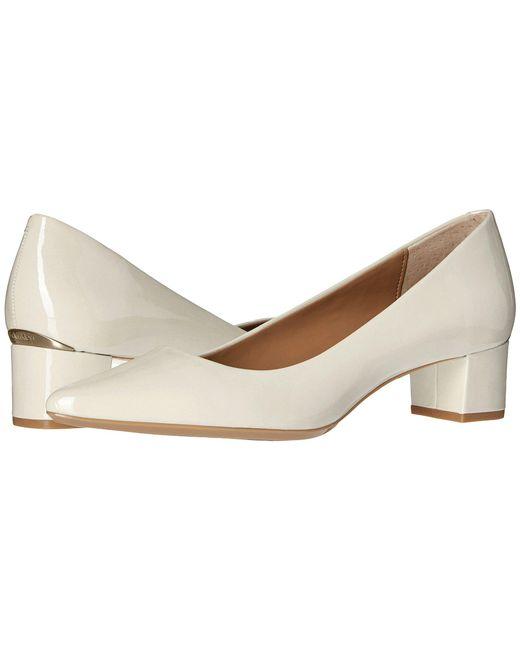 Calvin Klein | White Genoveva Pointed Toe Classic Pumps Soft | Lyst