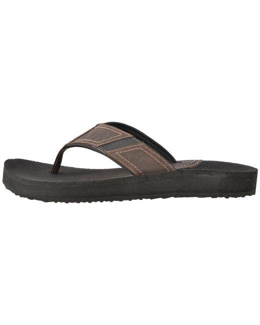 ffe8de176676 Lyst - Dunham Carter Flip-flop (brown) Men s Sandals in Brown for Men