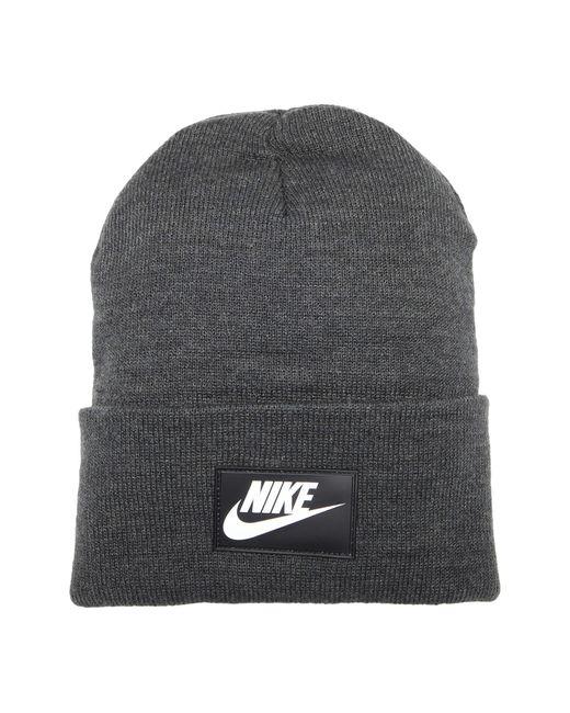 Nike Gray Nsw Cuffed Beanie Fut Flash