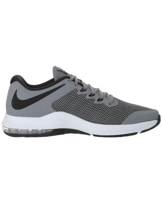 ... Nike - Gray Air Max Alpha Trainer (black white) Men s Cross Training  Shoes ... 1d7dd2462