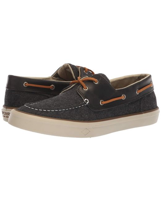 Sperry Top-Sider - Gray Bahama Ii Boat Wool (olive) Men's Shoes for Men - Lyst
