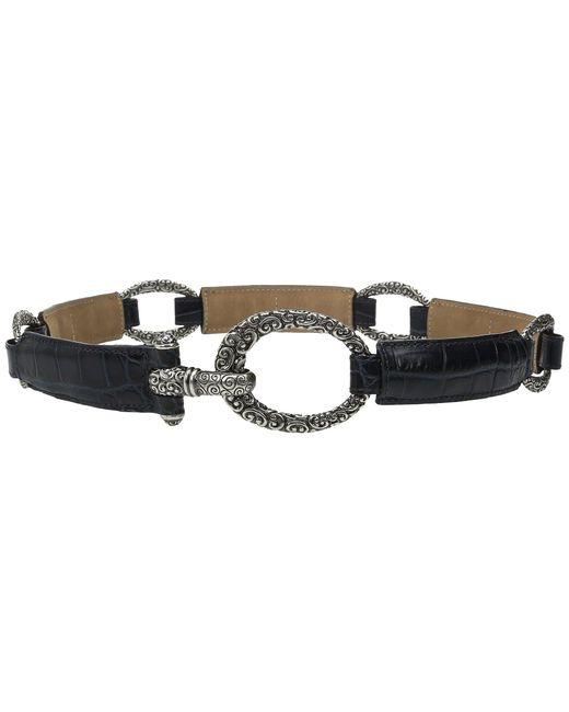 Brighton | Blue Cher Stretch Belt | Lyst