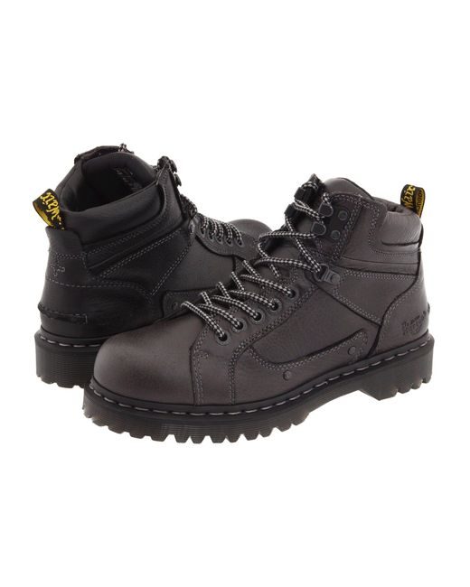 Dr. Martens Black Diego 7 Tie Lace To Toe Boot for men