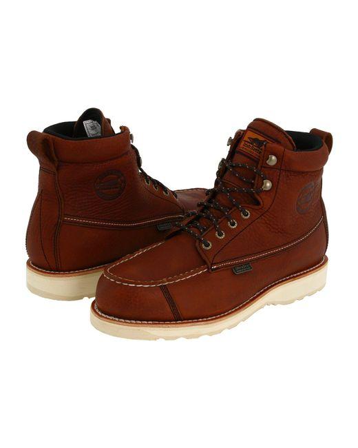 Irish Setter - Red Wingshooter Waterproof 6 838 (amber Leather) Men's Waterproof Boots for Men - Lyst