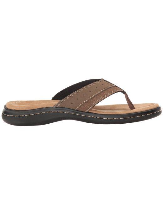 ffdfe5c35 ... Lyst Dockers - Brown Laguna Thong Sandal (dark Tan) Men s Shoes for Men  ...