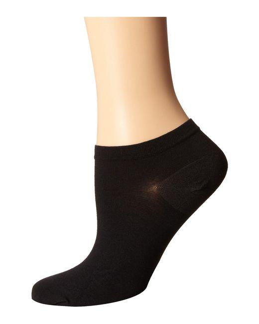 Wolford Black Sneaker Cotton Socks
