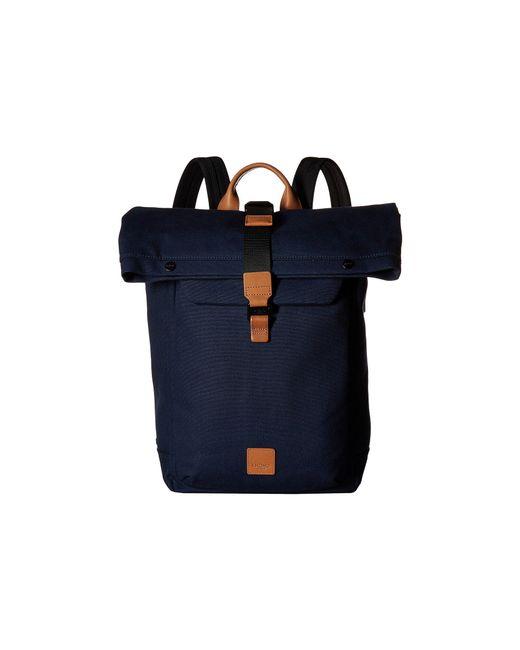 Knomo - Blue Fulham Novello Roll Top Backpack (navy) Backpack Bags for Men - Lyst