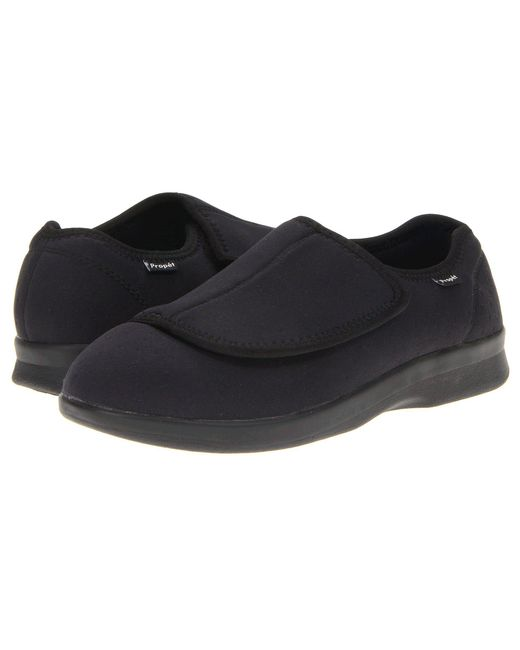 Propet - Cush 'n Foot Medicare/hcpcs Code = A5500 Diabetic Shoe (black Corduroy) Men's Slip On Shoes for Men - Lyst