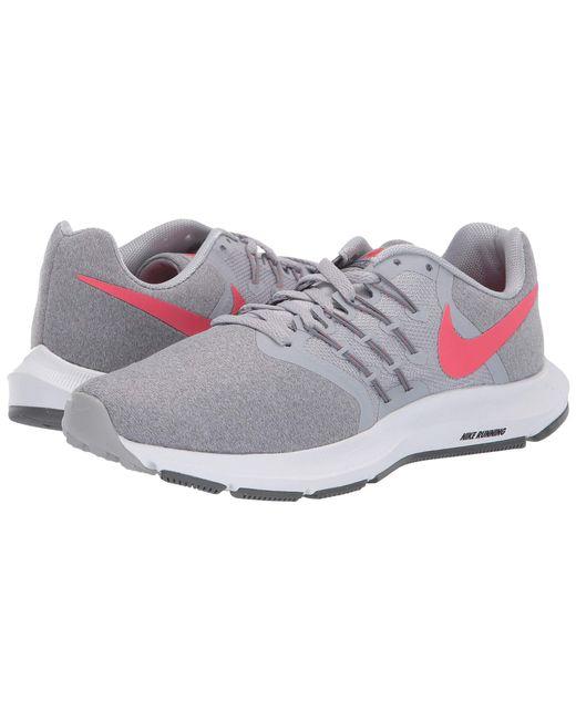 hot sale online 83b87 46d86 Nike - Gray Run Swift (bordeaux summit White burgundy Ash) Women s Running  ...