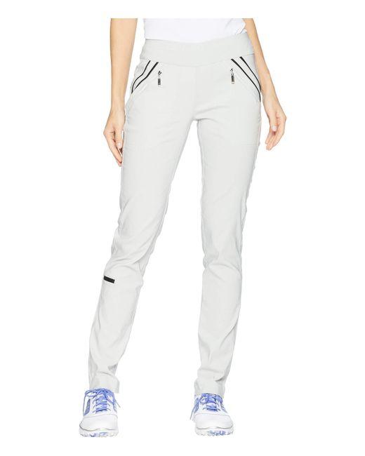 Jamie Sadock - Gray Skinnylicious Slimming Pull-on Pants (moonlit Navy) Women's Casual Pants - Lyst