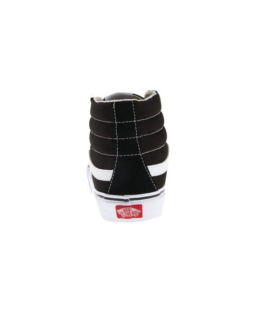 61af416d410 Lyst - Vans Comfycush Sk8-hi ((classic) Black black) Athletic Shoes ...