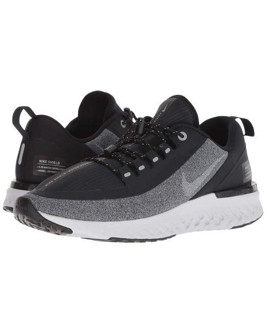 7843fe0f3f37c Nike - Gray Odyssey React Shield (blue Void metallic Silver black) Men s ...