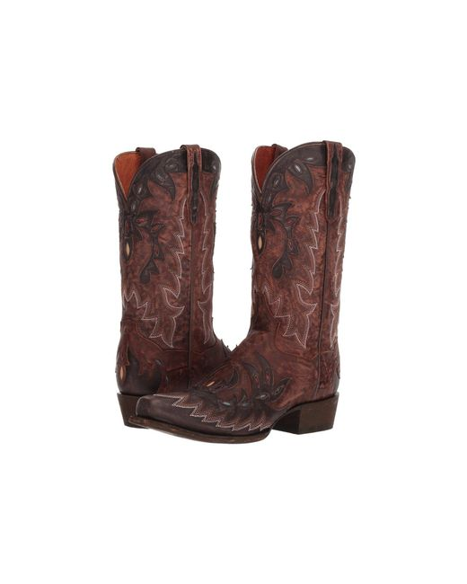 Dan Post - Tex (brown Leather) Cowboy Boots for Men - Lyst