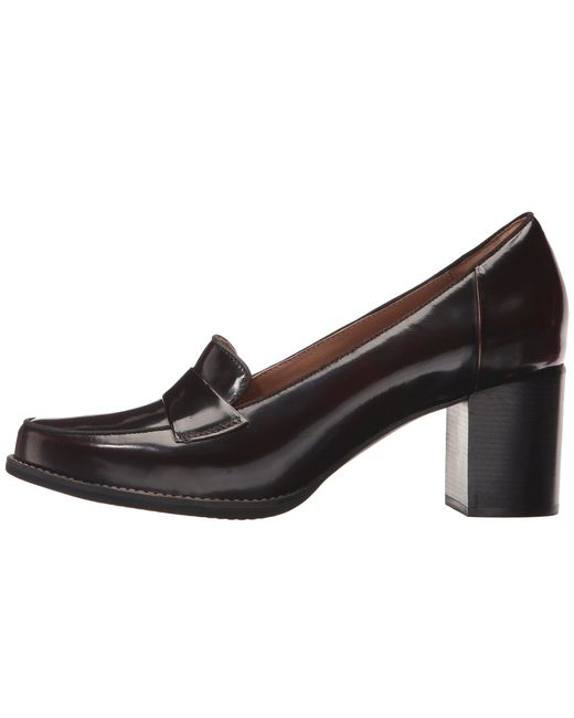 aec98ebb45d ... Clarks - Black Tarah Grace (burgundy Shiny Leather) High Heels - Lyst  ...