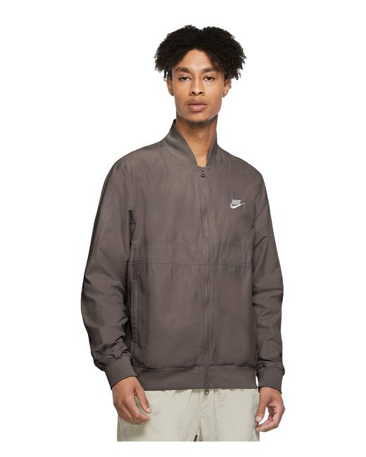 Nike Brown Nsw Sce Woven Players Jacket Clothing for men