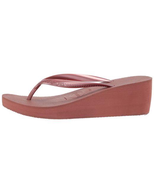 6535c152873 ... Lyst Havaianas - Multicolor High Fashion Flip Flops (black) Women s  Sandals ...