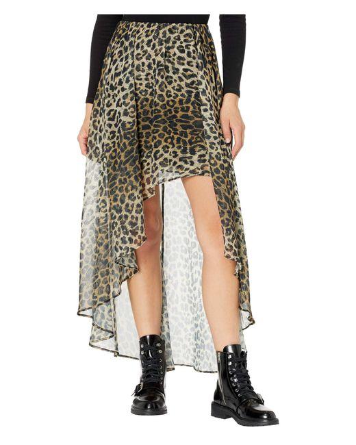AllSaints Yellow Slvina Leppo Skirt Skirt