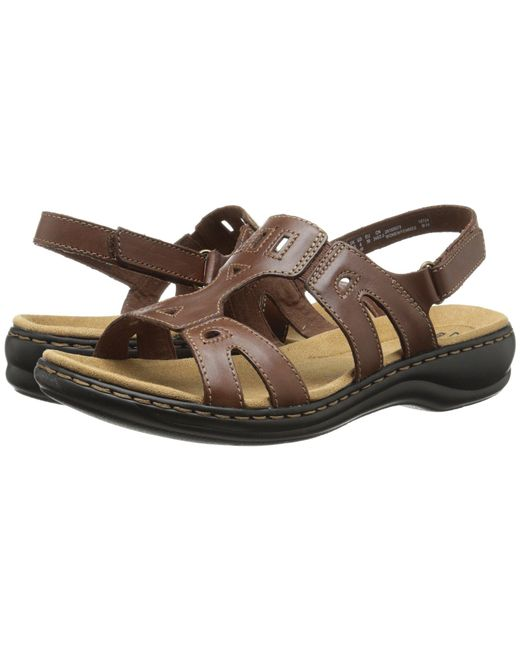 Clarks - Brown Leisa Annual Sandal - Lyst