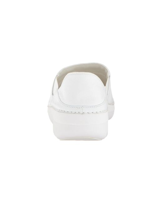 11802f1c350 Lyst - Fitflop Superloafer Leather (urban White) Women s Shoes in White
