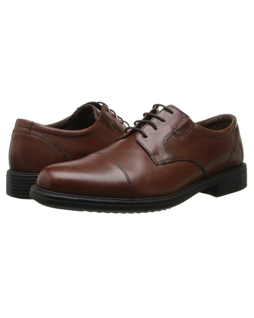 Bostonian - Bardwell Limit (brown Leather) Men's Lace Up Cap Toe Shoes for Men - Lyst