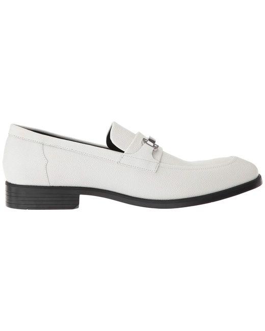 d379f63968a ... Calvin Klein - Craig (off-white Scotch Grain Leather) Men s Shoes for  Men ...