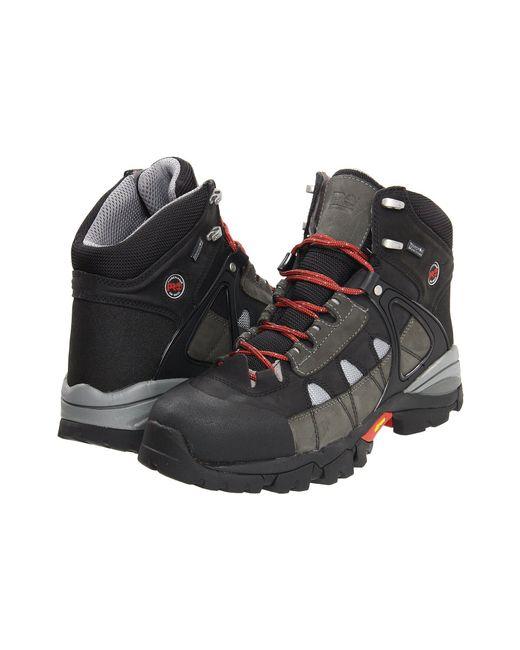 Timberland - Black Hyperion Wp Xl Soft Toe (slate) Men's Work Boots for Men - Lyst