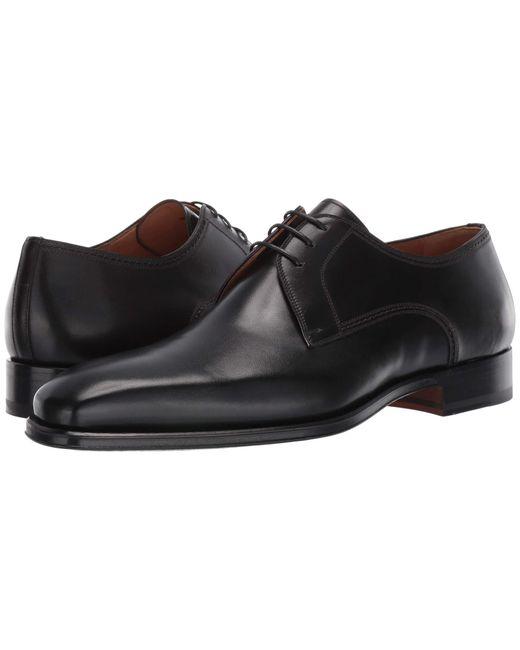 Magnanni Shoes Black Leon for men