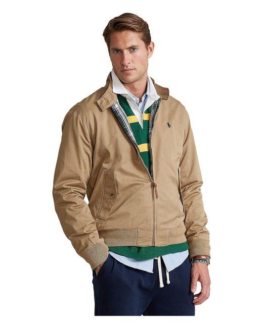 Polo Ralph Lauren Multicolor Twill Mock Neck Jacket for men