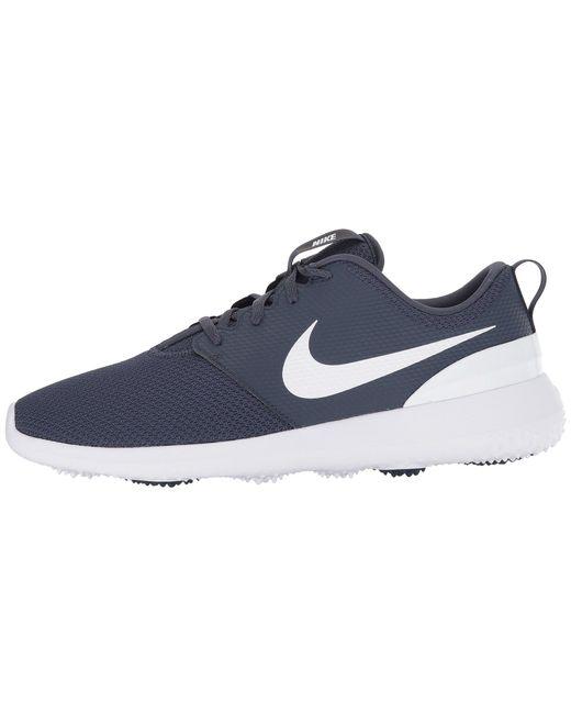 Lyst - Nike Roshe G (thunder Blue white) Men s Golf Shoes in Blue ... 0e085718f