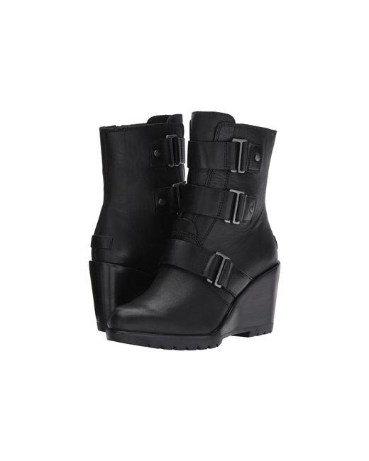 Sorel - Black After Hours Bootie (quarry) Women's Waterproof Boots - Lyst