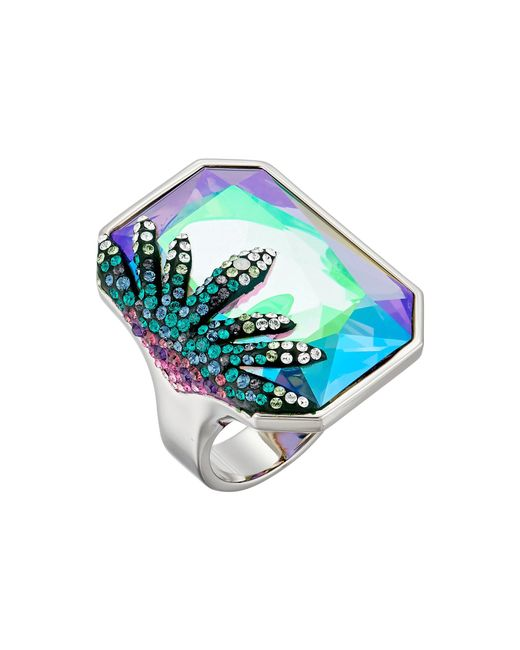 Swarovski   Blue Gisele Ring   Lyst